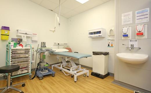 Examination room 136