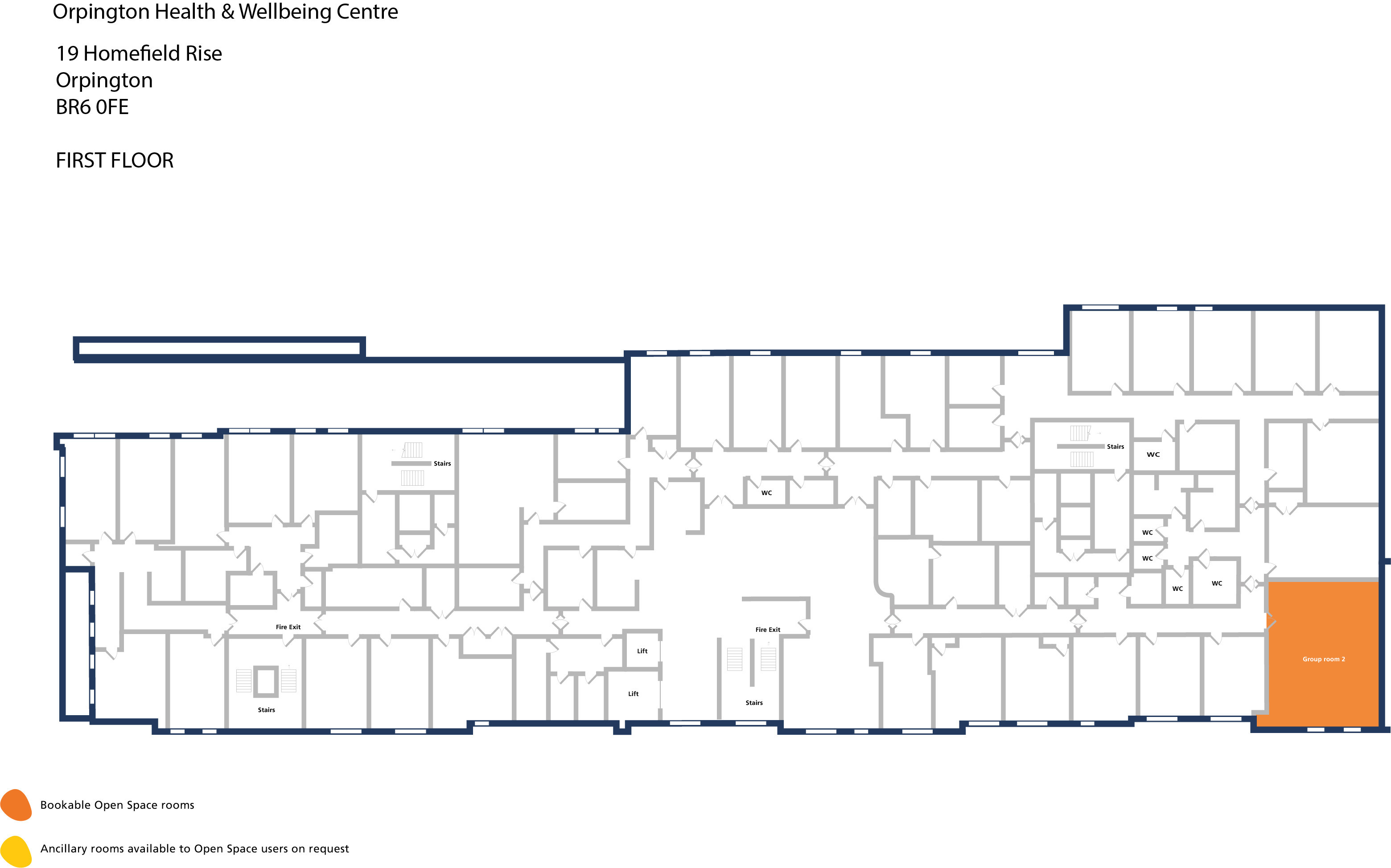 Orpington hwbc   first floor   group room 2