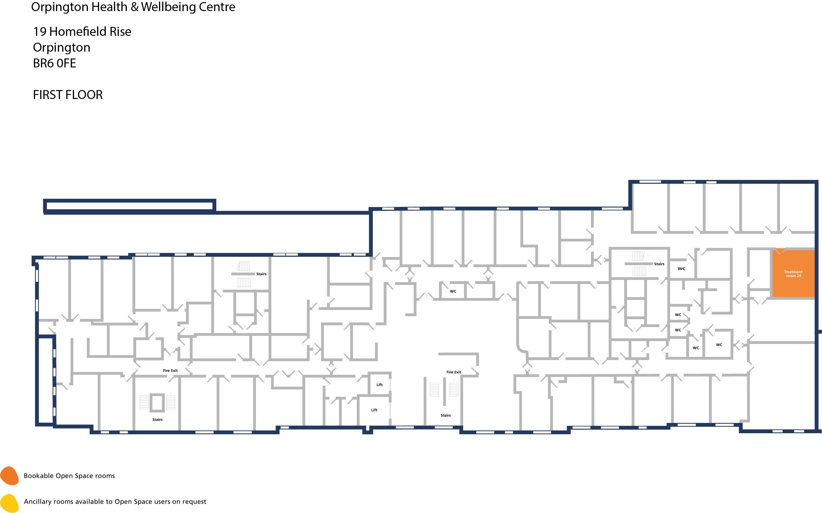 Orpington hwbc   first floor   treatment room 24