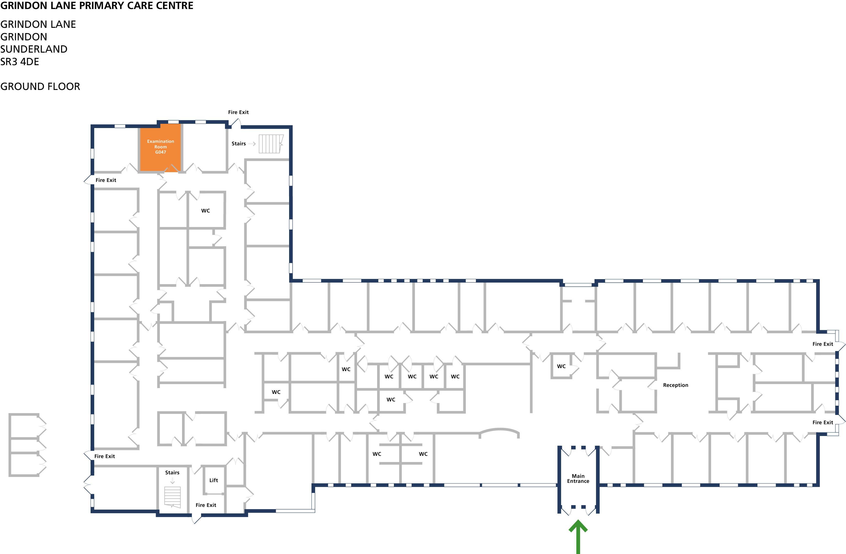 Examination room 47