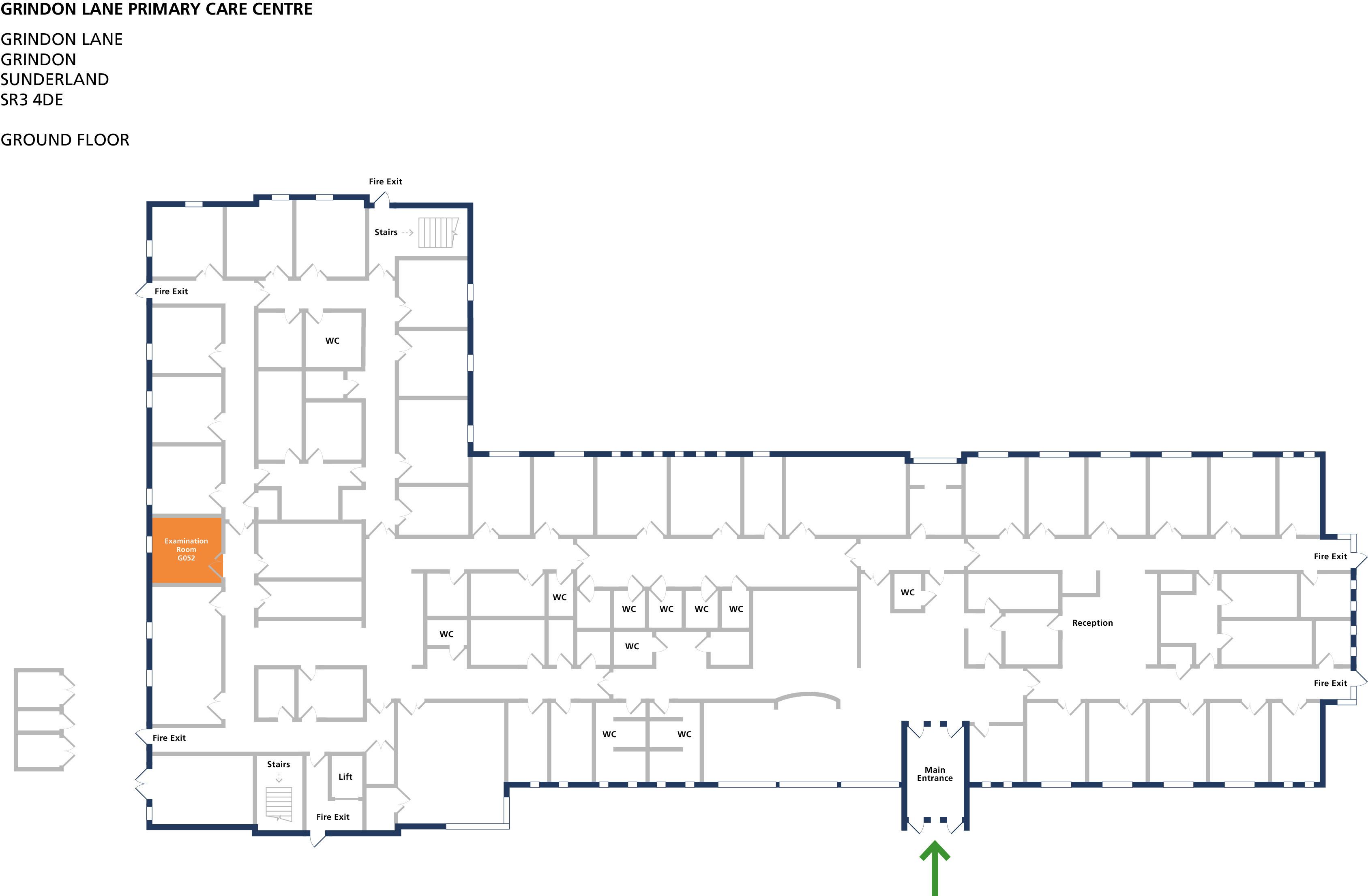 Examination room 52