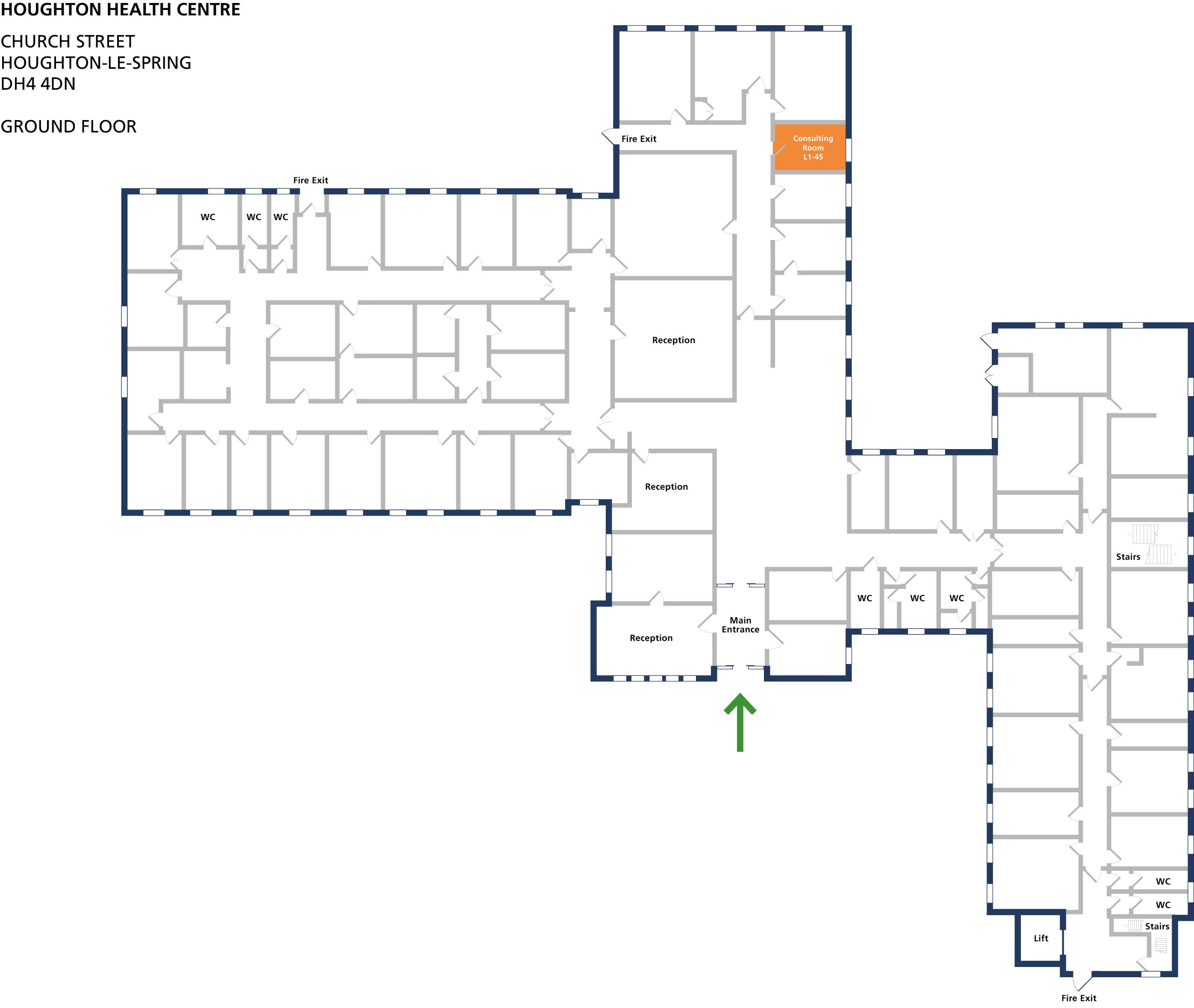 Examination room 45