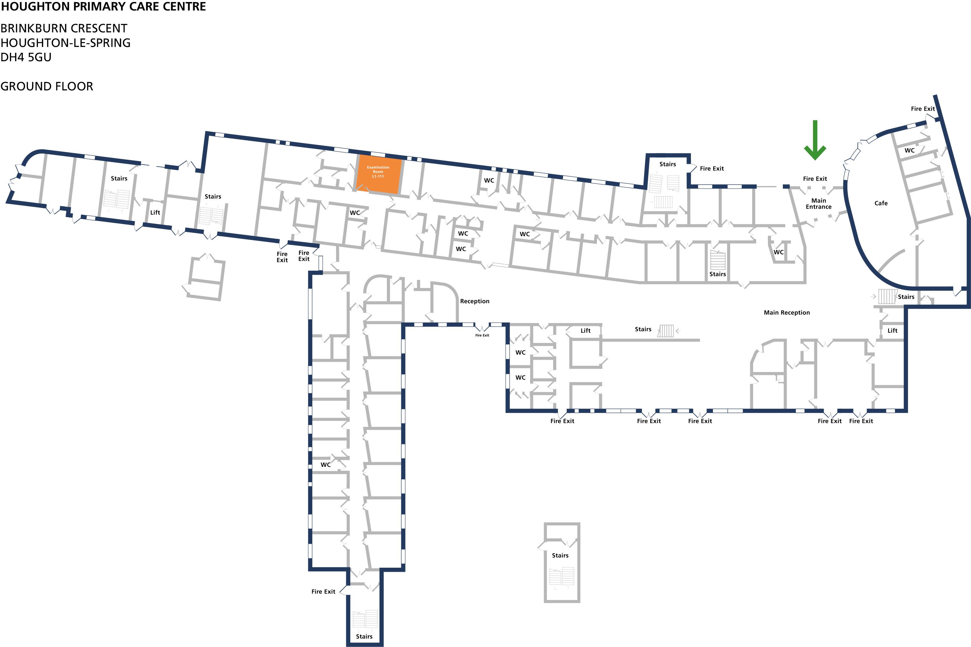 Examination room 111