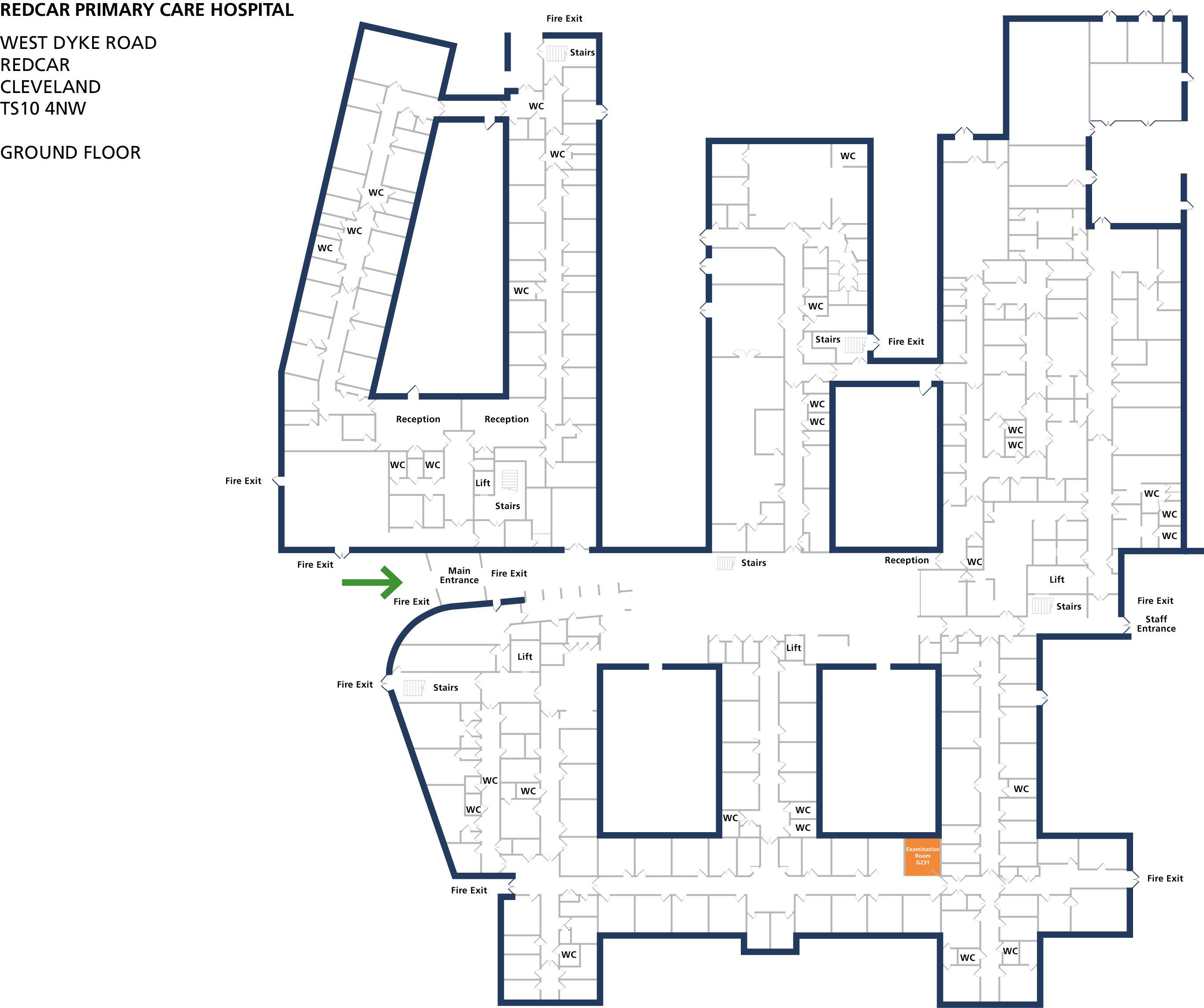 Examination room 231