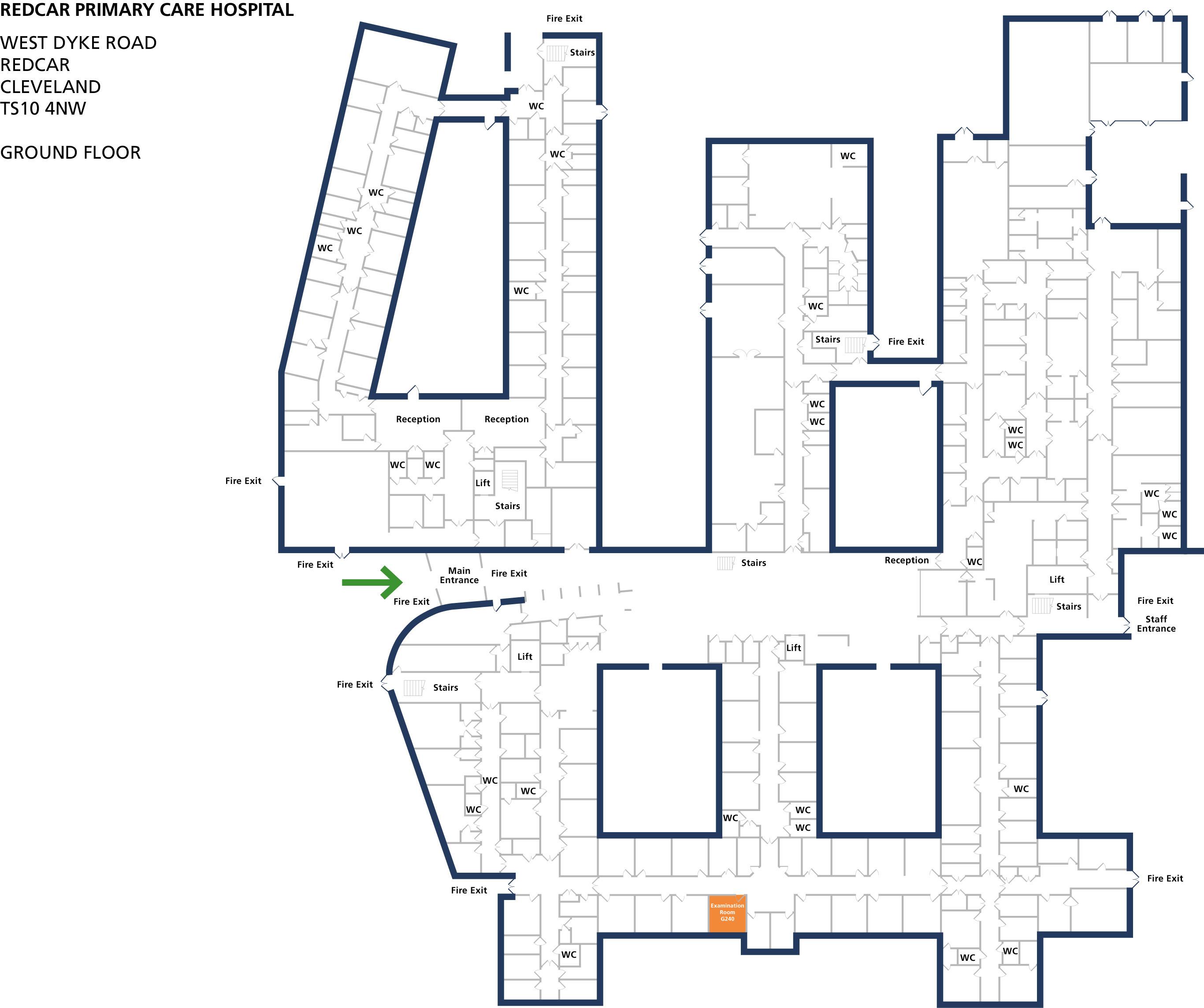 Examination room 240