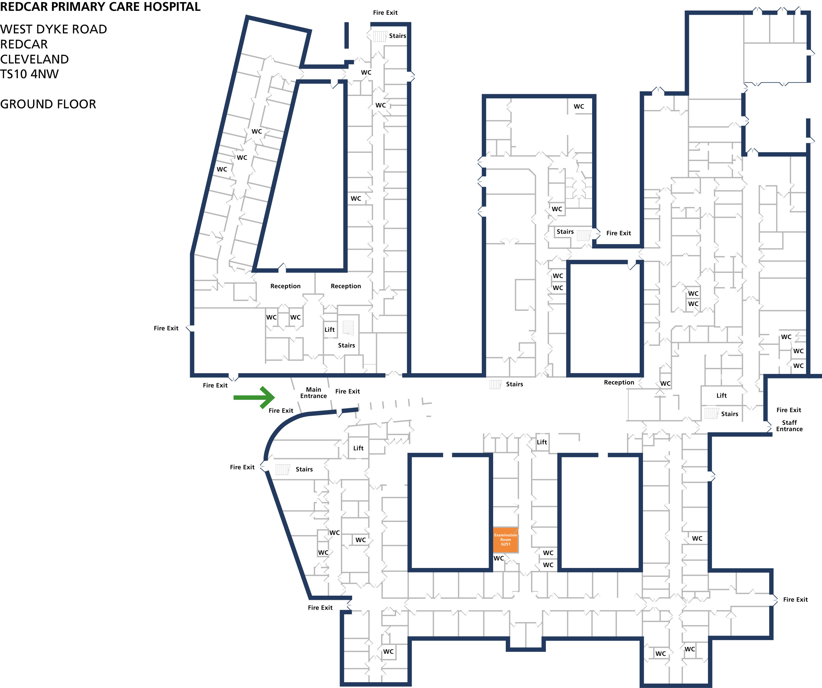 Examination room 251