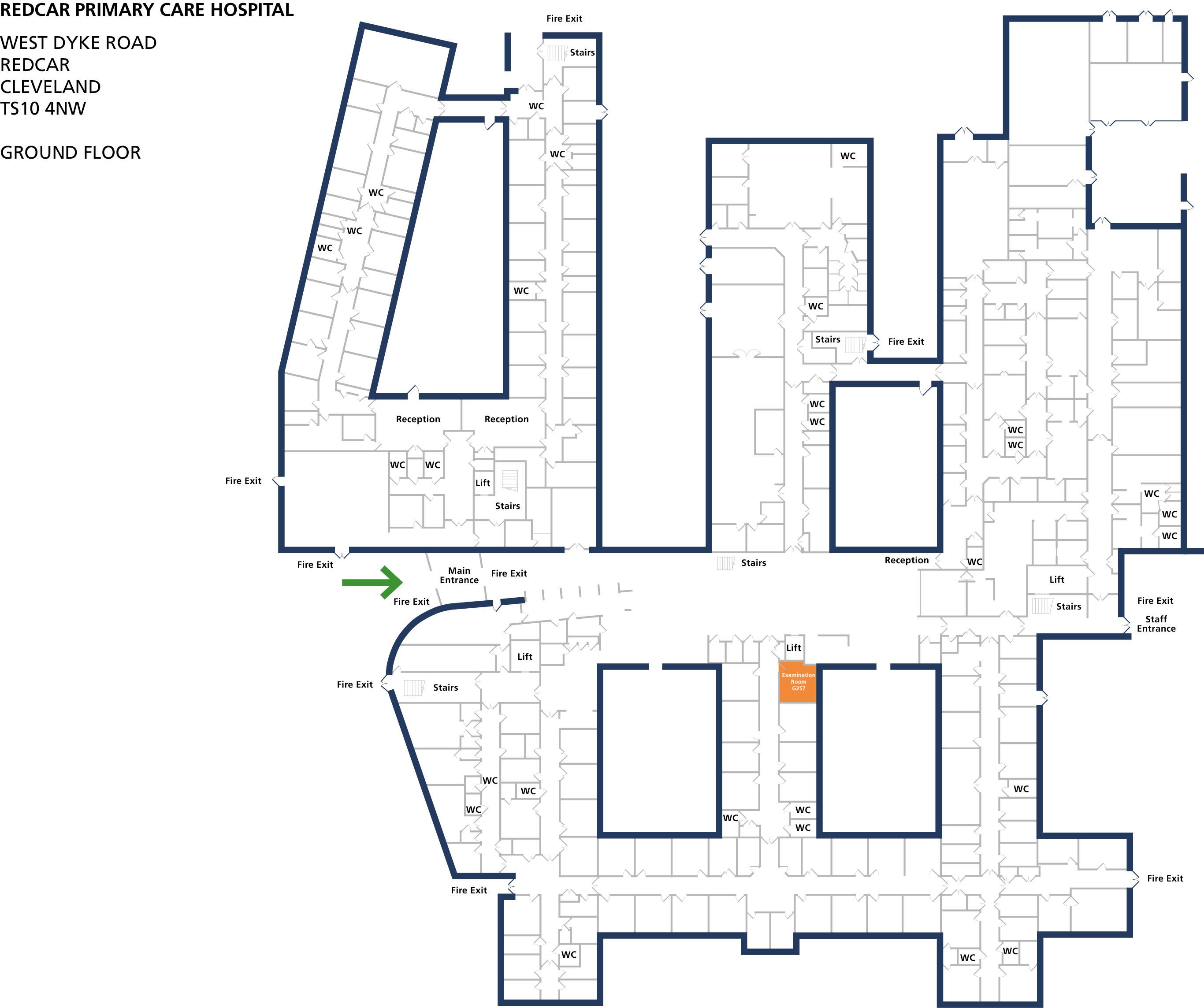 Examination room 257