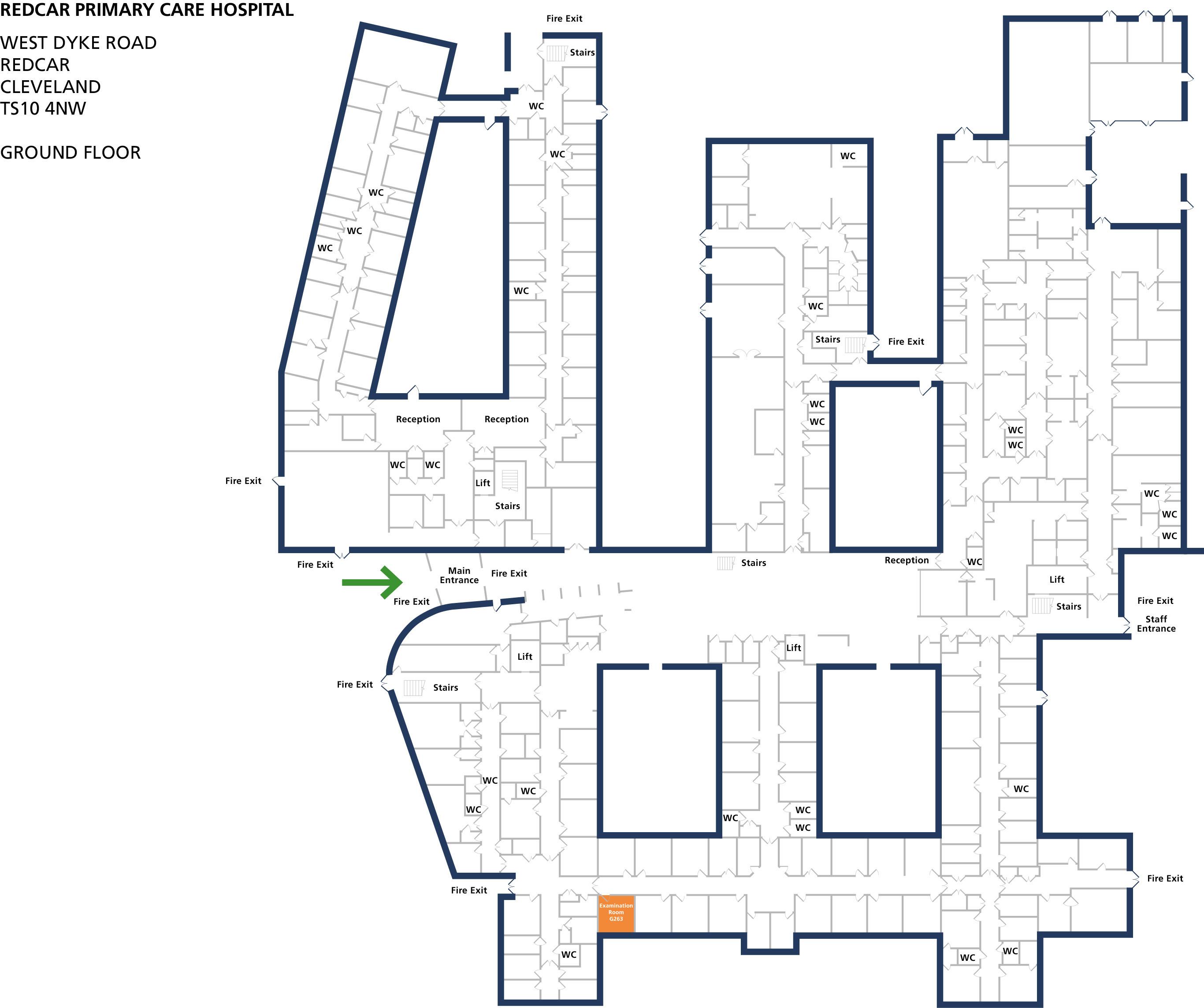 Examination room 263