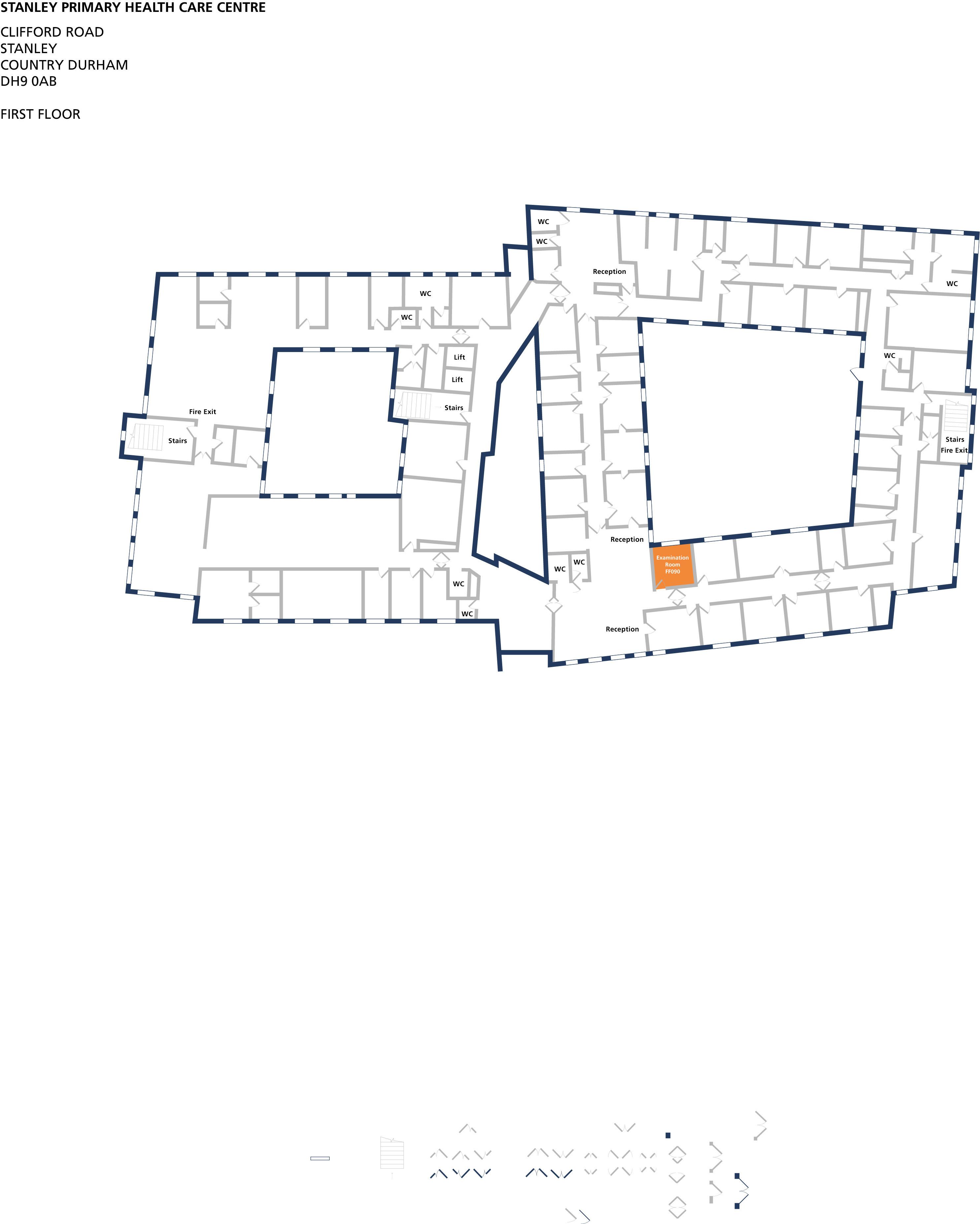 Examination room 90