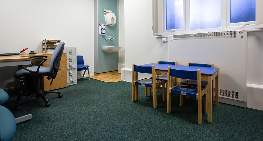 Lance burn health centre consulting room 2 001