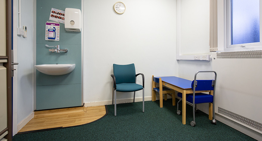 Lance burn health centre consulting room 3 003
