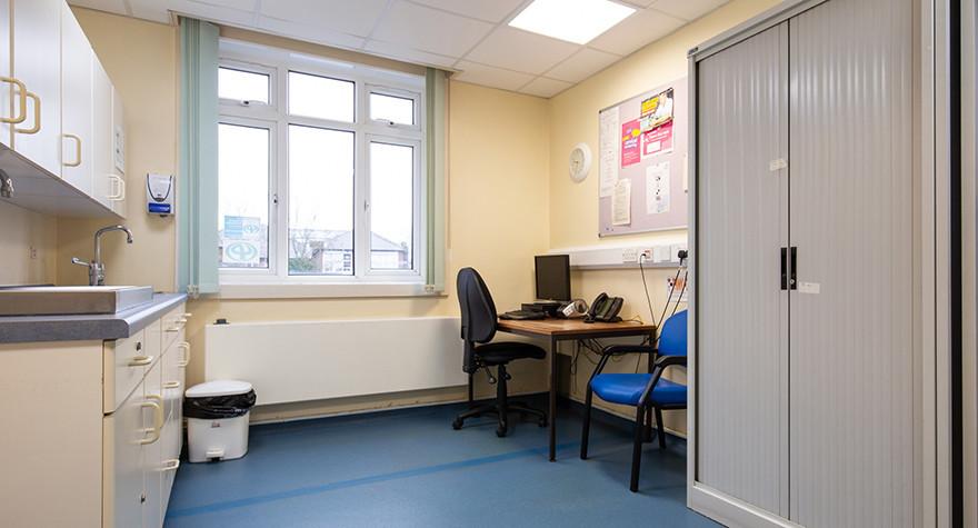 Dover health centre examination room 13 005