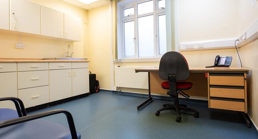 Dover health centre examination room 3 005