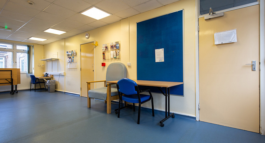 Dover health centre examination room 39 001