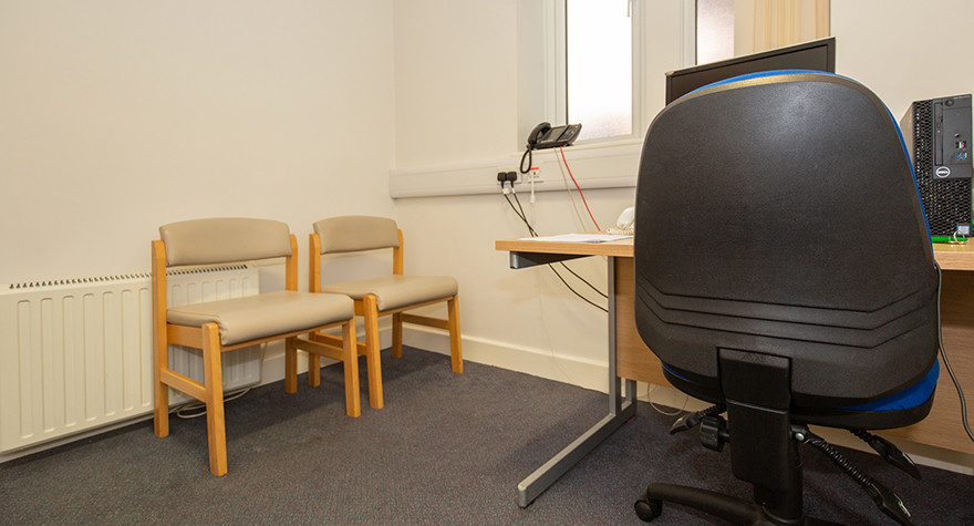Folkestone health centre counselling room 1 003