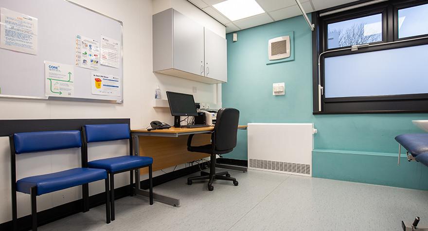 Longsight health centre examination room 3 002