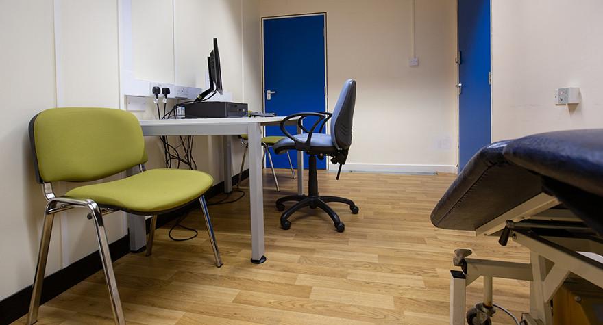 Pendlebury health centre examination room c 003