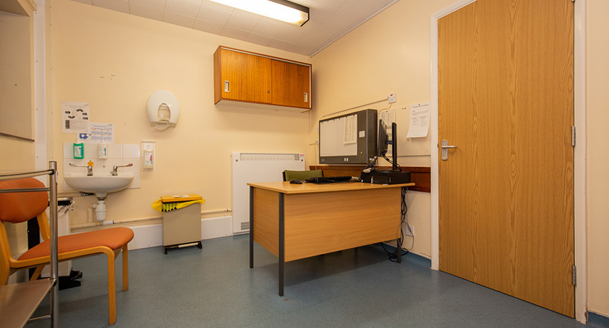 Skegness hospital consulting room 1 001
