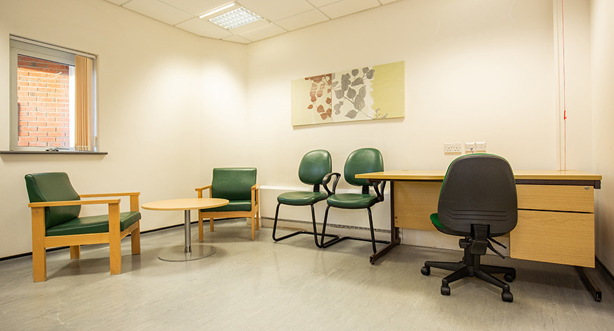 Yew tree centre counselling room 1 001
