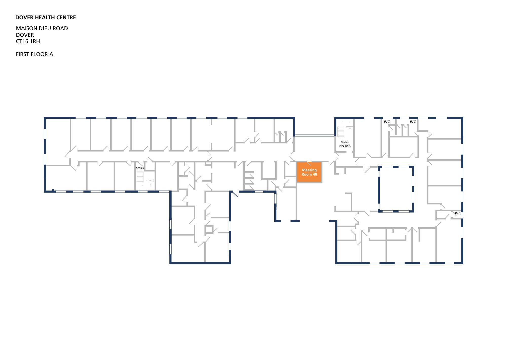 Dover health centre room meeting room 48 v1