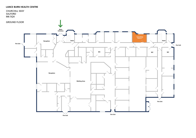Lance burn health centre room consulting room 2 v1