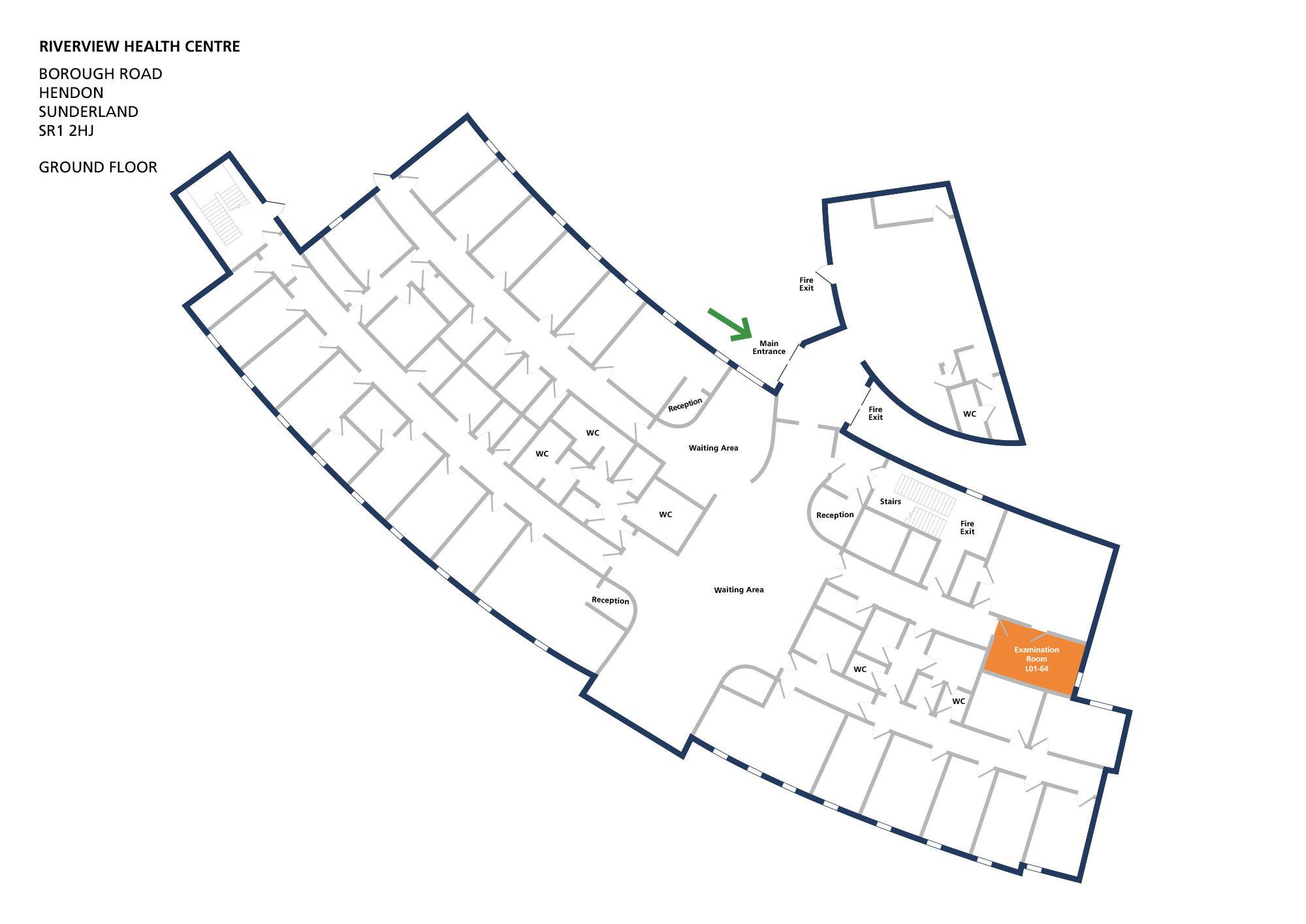 Riverview health centre room examination room l01 64 v1