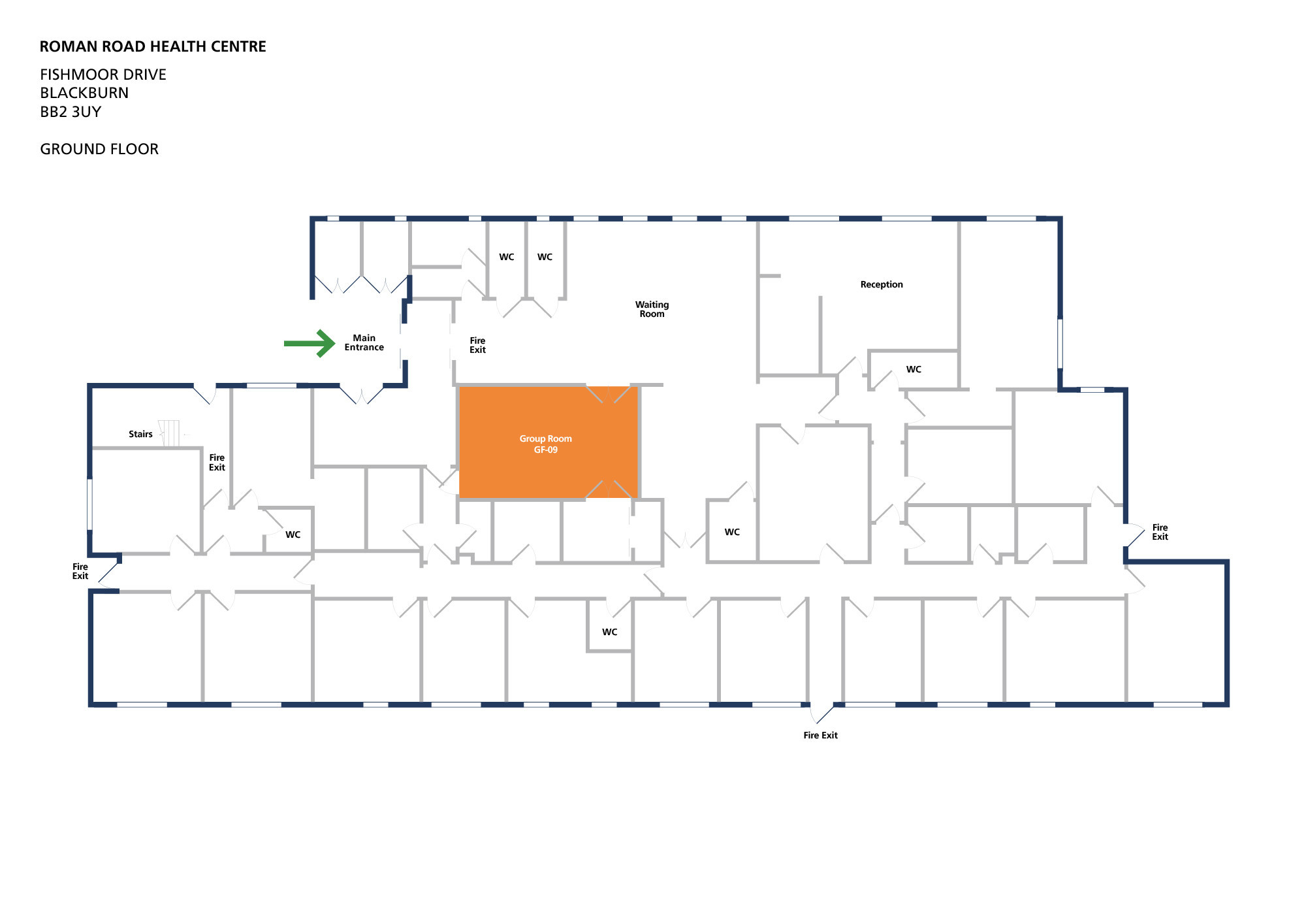 Roman road health centre room group room gf 09 v2