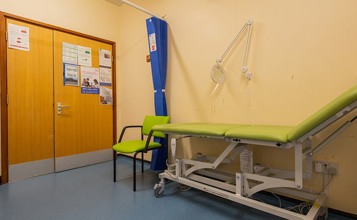 Examination Room SG27 - Outpatients Dept 2