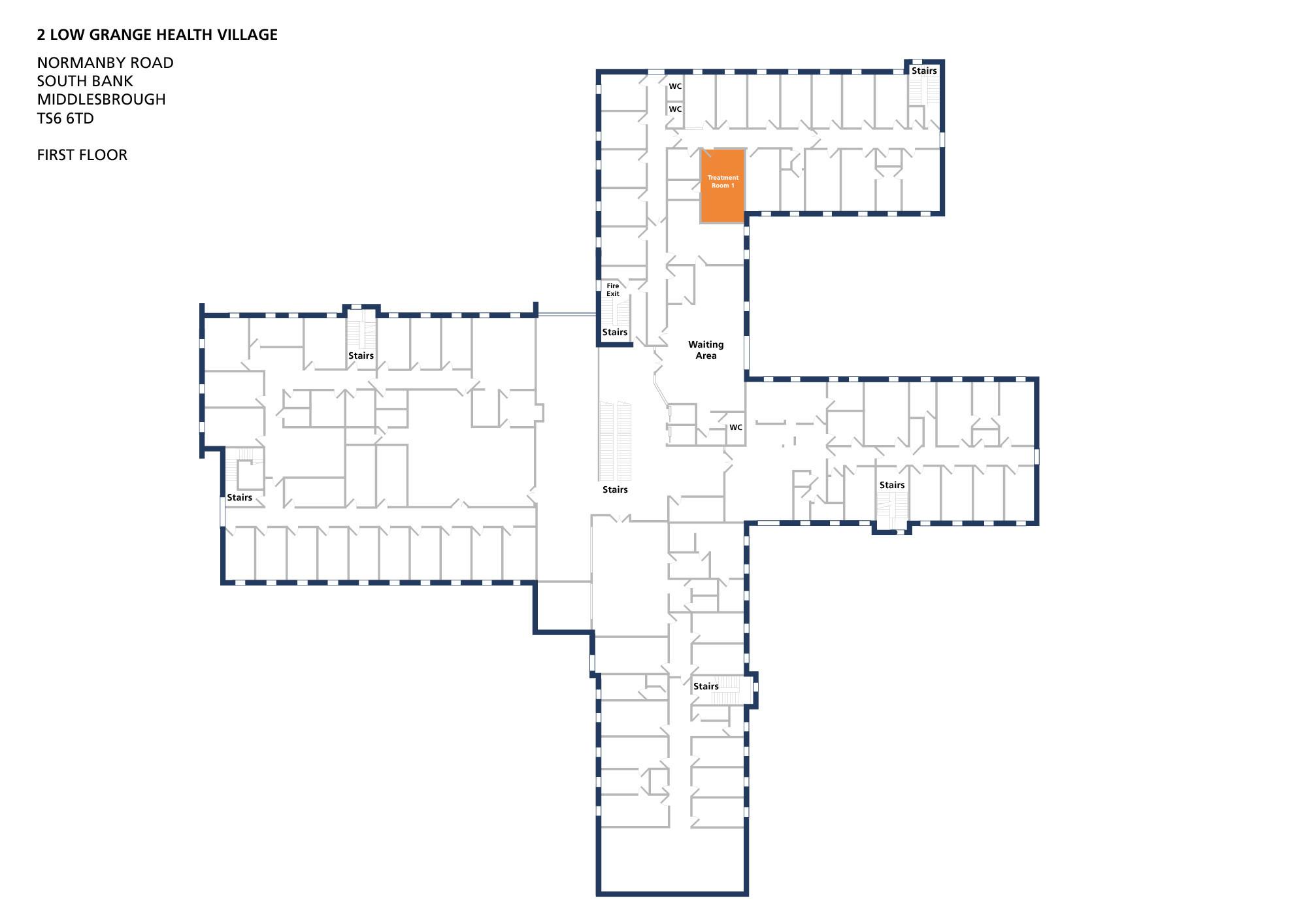 2 low grange health village rooms treatment room 1 v1