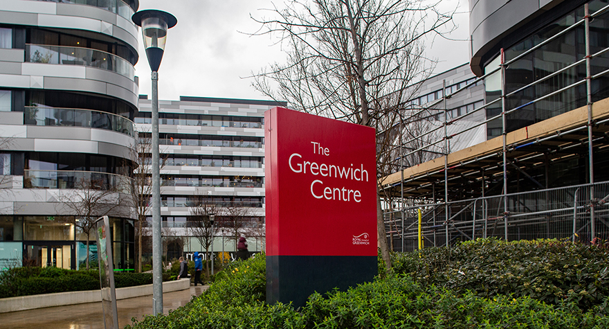 The greenwich centre exterior 002