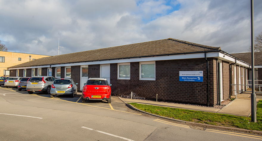 North hykeham health centre exterior 001