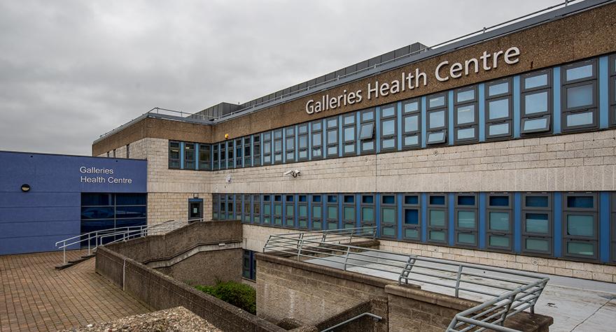 Galleries health centre exterior 003