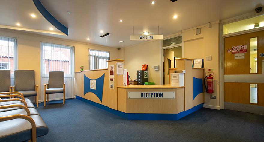 Boston health clinic reception 002