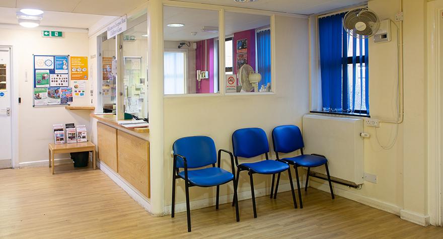 Liverpool road health centre reception 001