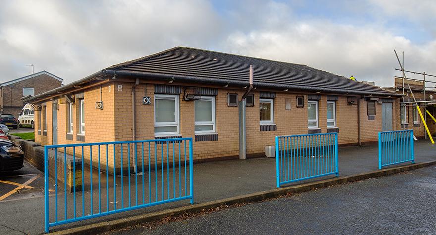 Audley health centre exterior 003