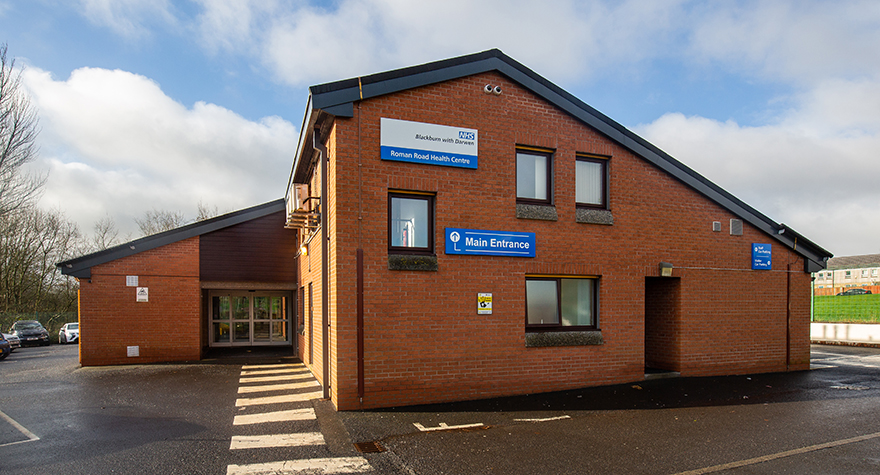 Roman road health centre  exterior 002