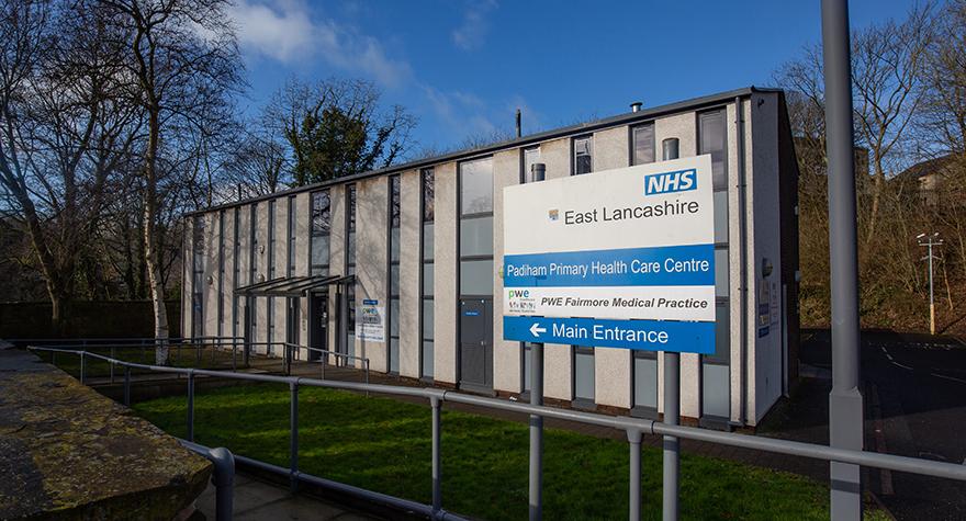 Padiham health centre  exterior 005