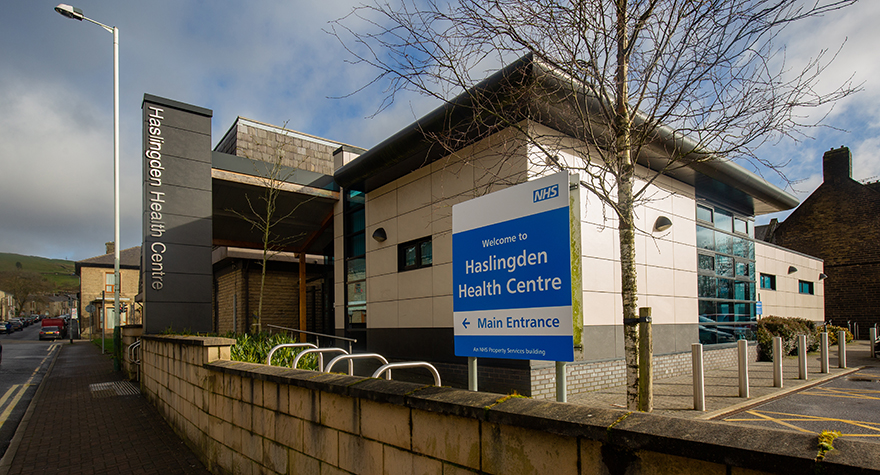 Haslingden health centre  exterior 003