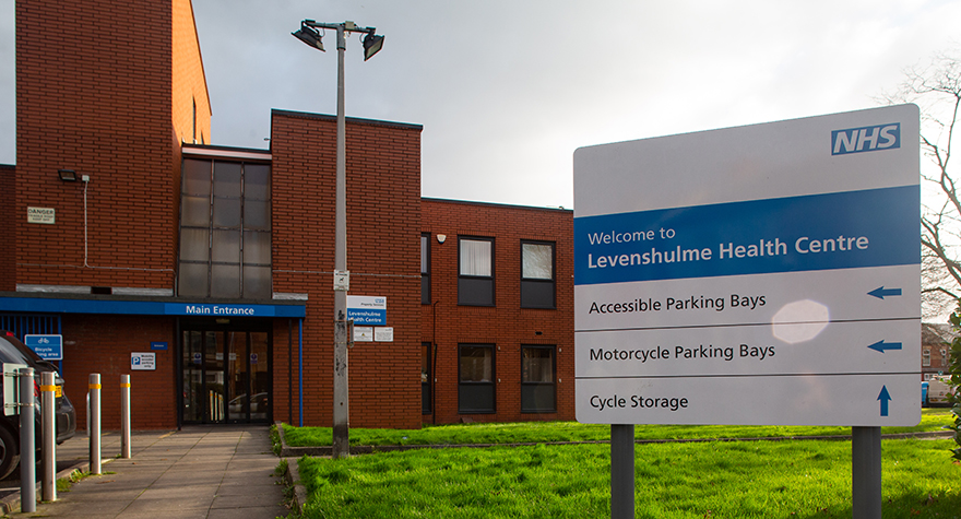 Levenshulme health centre exterior 006  1