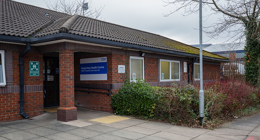 Harpurhey health centre exterior 005